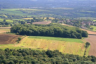 Little Wenlock village in the United Kingdom