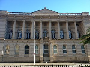 Old State Library Building, Brisbane - Original neoclassical structure