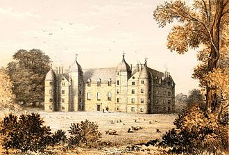 Tarbat House - George Mackenzie's mansion  which previously occupied the site