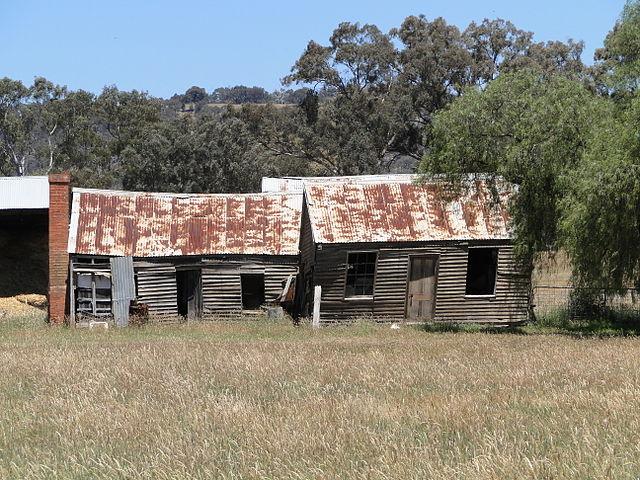 Moonambel Australia  city pictures gallery : ... farmhouse at Moonambel, Victoria, Australia, facing Humffray Street