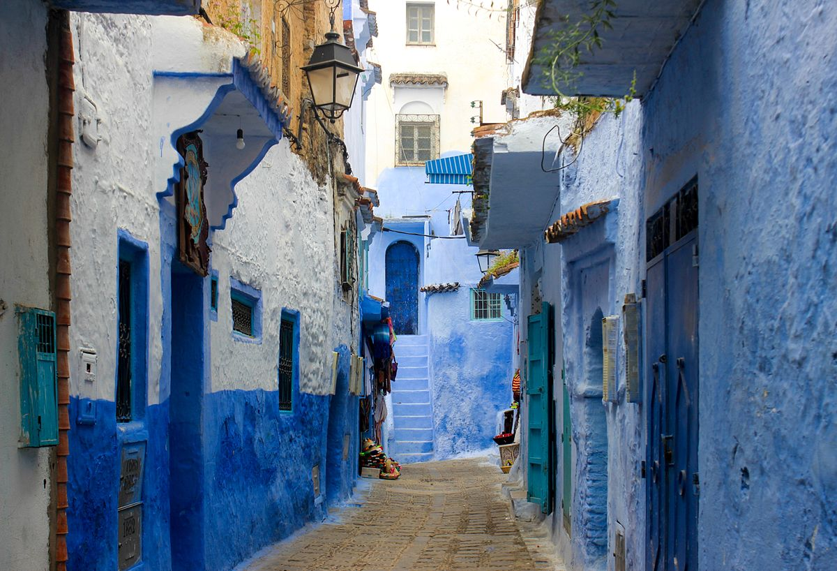 Chefchaouen Wikipedia - Old town morocco entirely blue