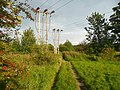 Old track and electricity poles, Hopton, Mirfield - geograph.org.uk - 1038337.jpg
