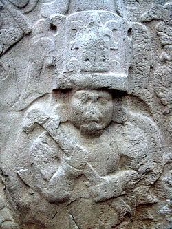 Olmecs wikipedia olmec chief or king relief from la venta archaeological site in tabasco publicscrutiny Image collections