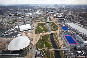 Queen Elizabeth Olympic Park - The park in April 2012