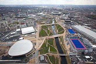 Queen Elizabeth Olympic Park - The park in April 2012