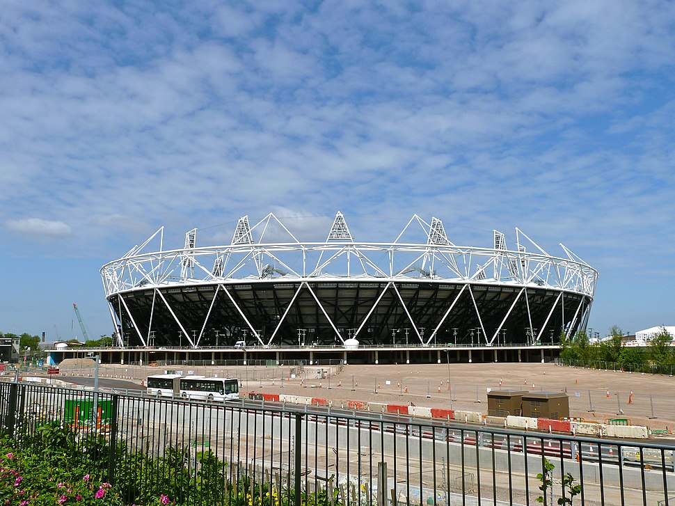 Olympic Stadium, London, 27 April 2011