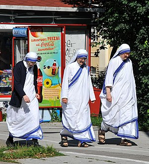 Nun - Image: On The Streets of Vilnius (5984257911)