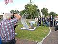 Onthulling missing man memorial Air Crash Museum 40-45 op 13 september 2014 in Rijsenhout 08.JPG