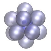File:Optimal packing of 12 non-overlapping spheres around central sphere.webm