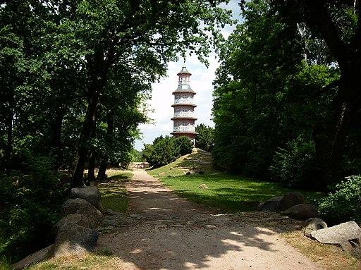 Schlosspark Oranienbaum, Pagode