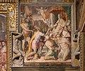 Orazio samacchini, Ottone I restituisce i territori della Chiesa a papa Agapito II, 1564-65, 03.jpg