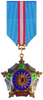 Order of Kurmet Award