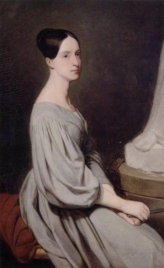 Princess Marie of Orléans (1813–1839) - Portrait by Ary Scheffer. Chantilly, Musée Condé