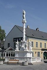 Mariensäule, Orth an der Donau