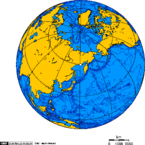 Orthographic projection centred over Magadan.png