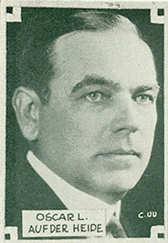 New Jersey's 11th congressional district - Image: Oscar L. Auf der Heide (New Jersey Congressman)