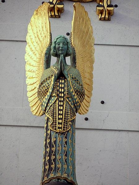 File:Othmar schimkowitz engel otto wagner kirche 5.jpg