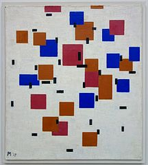 Compositie in kleur A