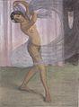 Otto Mueller - Tänzerin mit Schleier, von einem Mann beobachtet - ca1903.jpeg