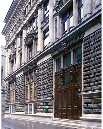 Ottoman Bank - The Ottoman Bank Archives and Research Centre, former head office of the Ottoman Bank, Istanbul.