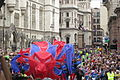Our Greatest Team Parade Lion close-up near Aldwych 1.JPG
