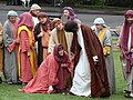 "Outdoor theatre depicting ""The Life of Christ"" - geograph.org.uk - 1001113.jpg"
