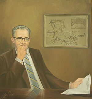 Overton Brooks - Portrait of Brooks in the Collection of the U.S. House of Representatives