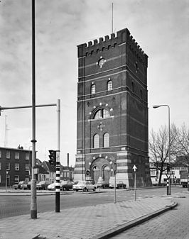 De watertoren in 1973