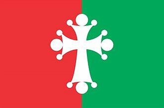 Shemokmedi - Image: Ozurgebti district flag