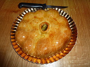 Plum cake - Image: Pâté aux prunes