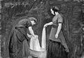 P.C. Skovgaard - To vaskekoner - KMS7296 - Statens Museum for Kunst.jpg