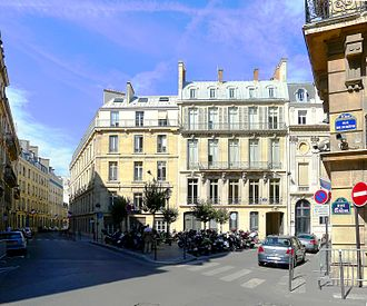 Francis Poulenc - The Place des Saussaies, Paris, where Poulenc was born
