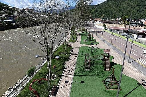 parque lineal en la ciudad de Zamora