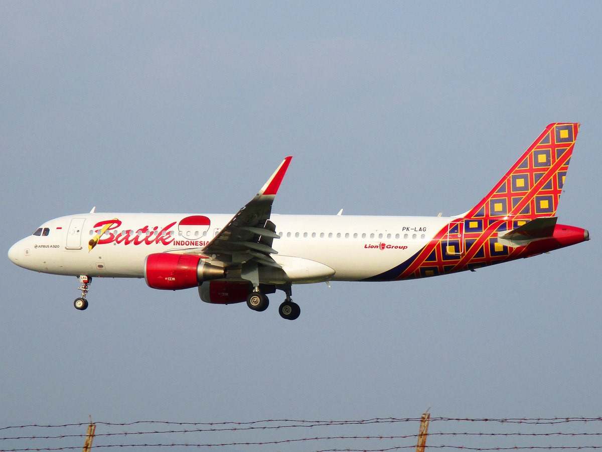 Batik Air Penerbangan 6171  Wikipedia bahasa Indonesia, ensiklopedia bebas
