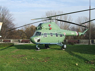 Mil Mi-2 - Mi-2P exhibited in Polish Army Museum in Warsaw.
