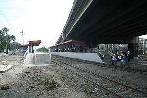 FTI railway station - Exterior of FTI station