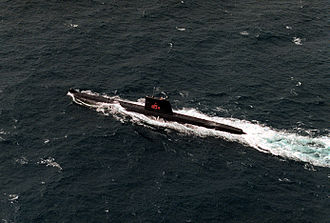Daphné-class submarine - Image: PNS Ghazi 134 DN SC 92 03633
