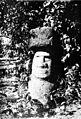 PSM V86 D463 Easter island statue in john brander estate papeete tahiti.jpg