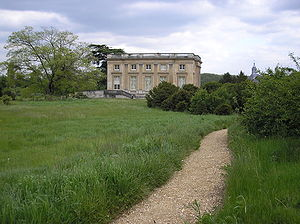 Moberly–Jourdain incident - The Petit Trianon in 2005 seen from the direction of the Temple de l'Amour.