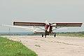 PZL-Okecie PZL-101A Gawron and glider (5203581108).jpg
