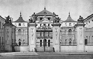 Pałac Brühla w Warszawie 04