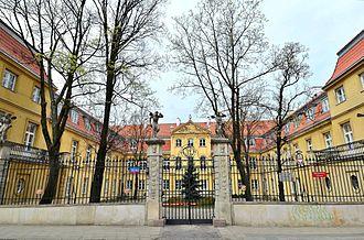 Palace of the Four Winds - Image: Pałac pod Czterema Wiatrami 022