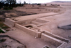 History of Lima - Pachacamac was an important religious center in pre-Columbian times.