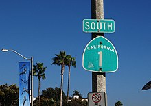 California State Route Wikipedia - Us highway 1 california map