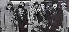 From left to right: Pagu, Elsie Lessa, Tarsila do Amaral, Anita Malfatti and Eugenia Alvaro Moreyra at the Modern Art Week of 1922. Pagu.Elsie.Tarsila.Anita.Eugenia.1922.jpg