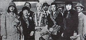 Pagu - Image: Pagu.Elsie.Tarsila.A nita.Eugenia.1922