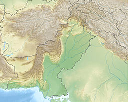 Makra Peak is located in Pakistan