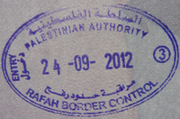 Entry stamp