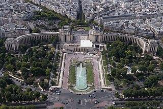 Palais de Chaillot Museum and former capitol building in Paris, France