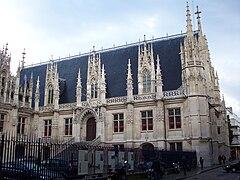 Palais de justice de rouen wikip dia for Architecture neo gothique